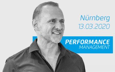 Performance Management Seminar – Nürnberg 13.03.2020